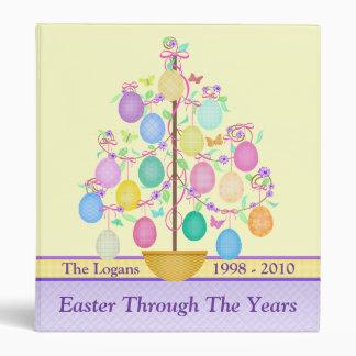 Custom Easter Photo Scrapbook Binder