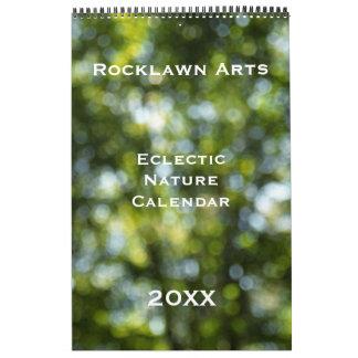 Custom Eclectic Nature Calendar - Long format