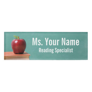 Custom Educator and Role Name Tag