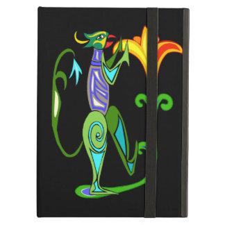 Custom Egyptian Art With Lotus Flower iPad Case