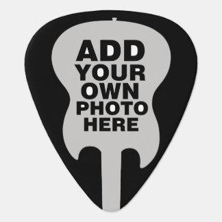 custom electric-guitar / add guitarist photo guitar pick