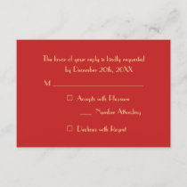 Custom Elegant Modern Christmas Holiday Party RSVP