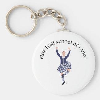 CUSTOM Elise Lyall School of Dance Basic Round Button Keychain