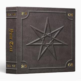 Custom Elven Fairy Star Book of Shadows 3 Ring Binders