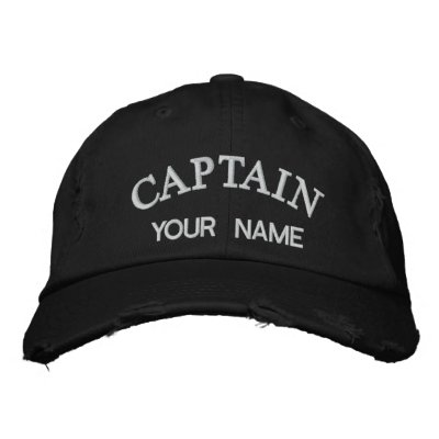 Custom Embroidered Captain Template Baseball Cap