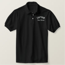 Custom Embroidered Captain Template Embroidered Polo Shirt