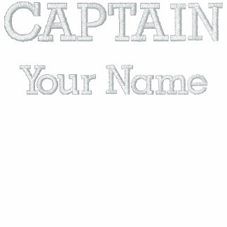 Custom Embroidered Captain Template Polo Shirt