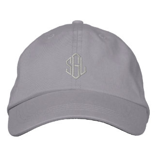 Custom Embroidered Hat with your monogram