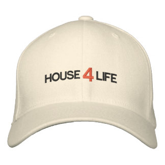 Custom Embroidered House4life Cap Embroidered Hat