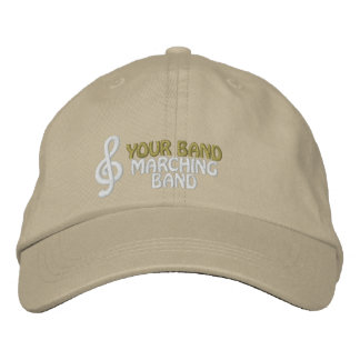 Custom Embroidered Marching Band Hat Embroidered Baseball Cap