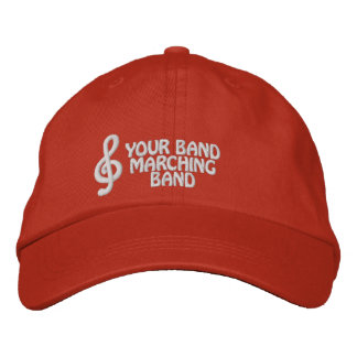 Custom Embroidered Marching Band Hat Embroidered Baseball Caps