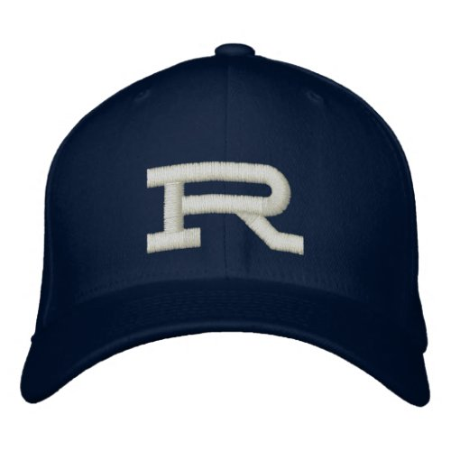 Custom embroidered name monogram initial letter embroidered baseball hat
