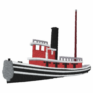 Custom Embroidered Polo- Steam Tugboat Polo