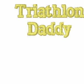 Custom Embroidered TriathlonDaddy Hoody