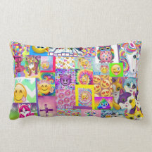 Rainbow Emoji Pillows - Decorative & Throw Pillows   Zazzle