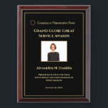 "Custom Employee Awards Plaque Photo Personalize<br><div class=""desc"">Custom Employee Awards Plaque Photo Personalize for your employee at your company. Replace with your information or words,  logo or symbol and photograph.  Great to use for those Award ceremonies.</div>"