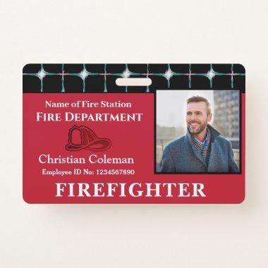 Custom Employee ID  Card Photo Logo Bar Code Name Badge