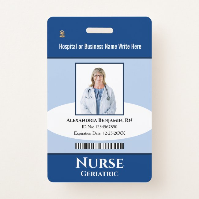 Nurse Id Cards Registered Nurse Id Badge Templates