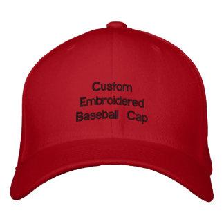 Custom Emroidered Baseball Cap @ eZaZZleMan.com