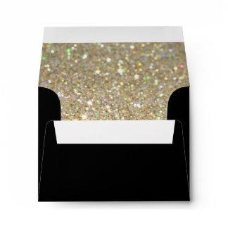 Custom Envelope - (3.5x5) Black Fab