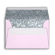 Custom Envelope - (4x6) Pink Fab