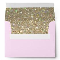 Custom Envelope - (5x7) Pink Fab