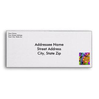 Custom Envelope - BIG BANG BLACK HOLES POP ART