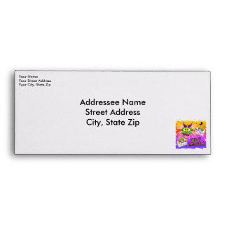 Custom Envelope - HALLOWEEN BOOGEYMAN MONSTER