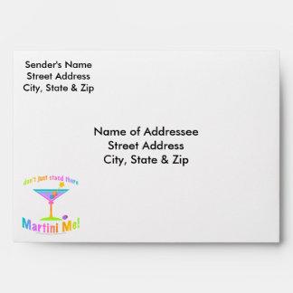 Custom Envelopes - MARTINI ME!