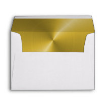 Custom Envelopes With Gold color Lining