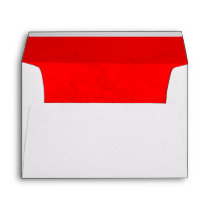 Custom Envelopes With Marbled Red Lining