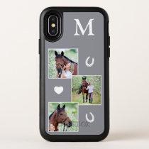 Custom Equestrian Animal Photo Horse OtterBox Symmetry iPhone XS Case