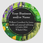 Custom Essential Oil Business Bottle Contact Label