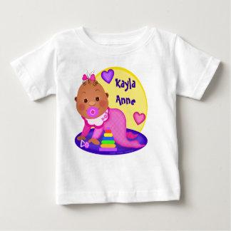 Custom Ethnic Baby Girl T-Shirt / Bodysuit