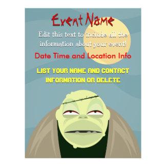 Custom Event Halloween Frankenstein Flyer