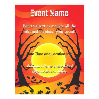 Custom Event Halloween Moon Flyer