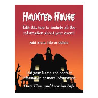 Custom Event Haunted House Custom Flyer