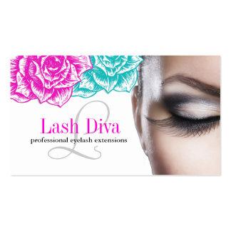 Custom Eye Lash Extensions Business Cards