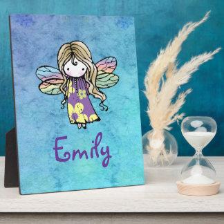 Custom Fairy Self Standing Plaque for Girls Room