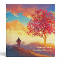 Custom Family Genealogy Ancestry 3 Ring Binder