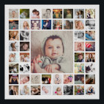 "Custom Family Memories Photo Collage Personalized Poster<br><div class=""desc"">Create your own personalized family memories photo collage print with your custom images. Makes a great gift to hang in the entryway or living room as a lovely wall art.</div>"