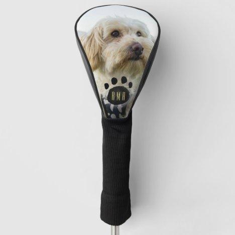 Custom Family Pet Photo   Monogrammed Golf Head Cover