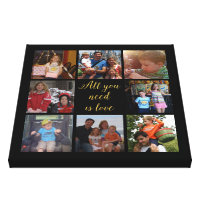 Custom family photo collage