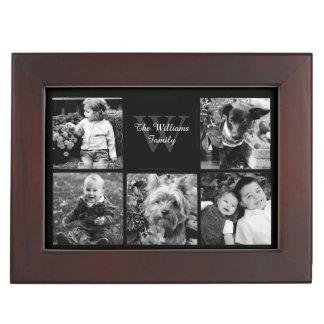 Custom Family Photo Collage Memory Box