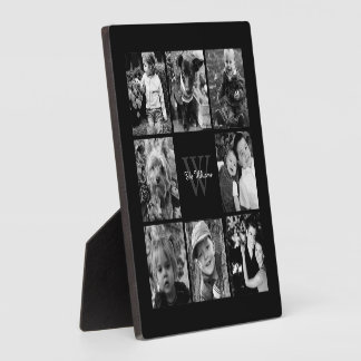 Custom Family Photo Collage Plaques
