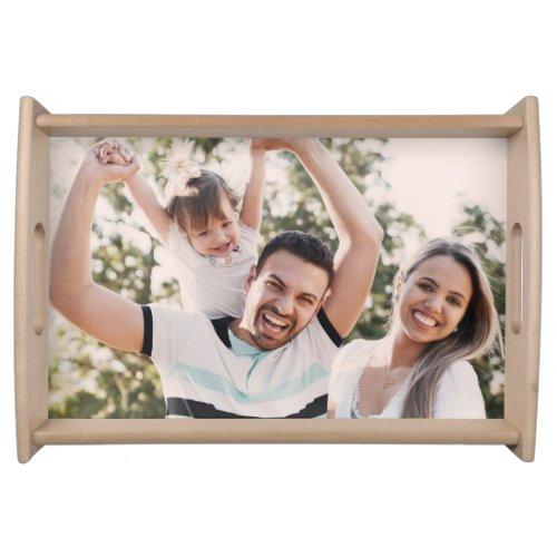 Custom Family Photo Serving Tray