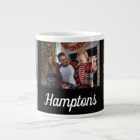 Custom. Family Photos. Giant Coffee Mug