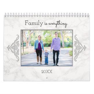 Custom Family Quotes and Photos Calendar