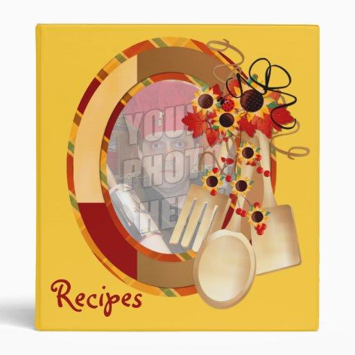 Custom Family Recipe Binder
