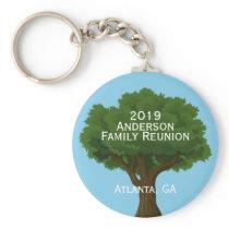 Custom Family Reunion Souvenir Keychain